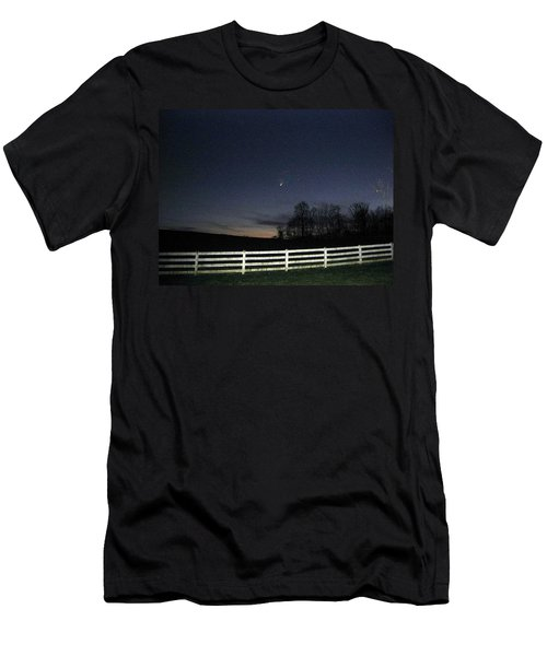 Evening In Horse Country Men's T-Shirt (Athletic Fit)