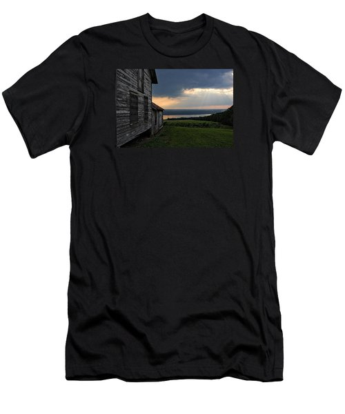 Evening Is Falling Men's T-Shirt (Athletic Fit)