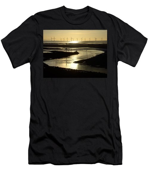 Evening Low Tide 2 Men's T-Shirt (Athletic Fit)