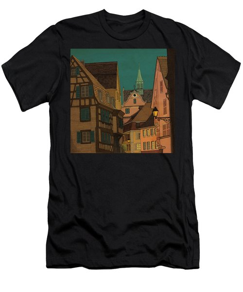 Evening Men's T-Shirt (Slim Fit) by Meg Shearer