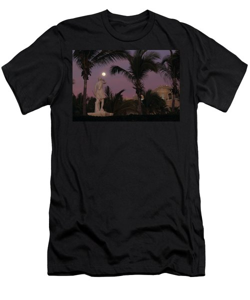 Evening Moon Men's T-Shirt (Athletic Fit)