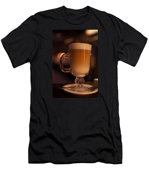 Evening Refreshments Men's T-Shirt (Slim Fit) by Miguel Winterpacht