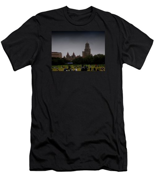 Men's T-Shirt (Slim Fit) featuring the photograph Evening by Salman Ravish
