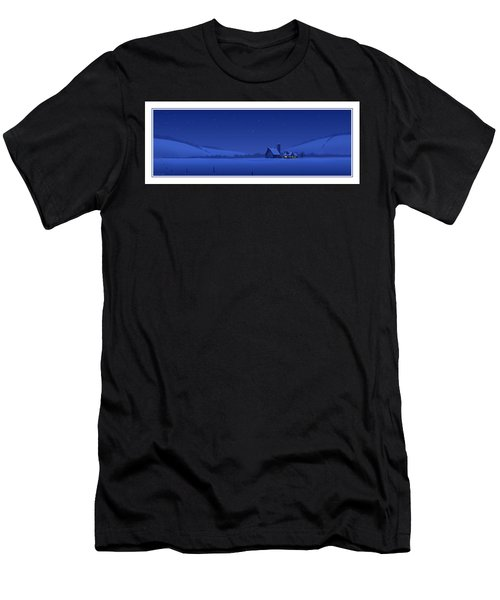 Evening Shade Men's T-Shirt (Athletic Fit)