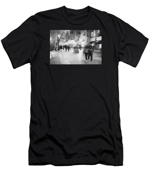 Evening Stroll In Paris Men's T-Shirt (Athletic Fit)