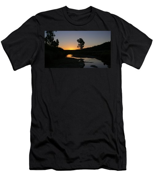Evening Wonderland Men's T-Shirt (Slim Fit) by Evelyn Tambour