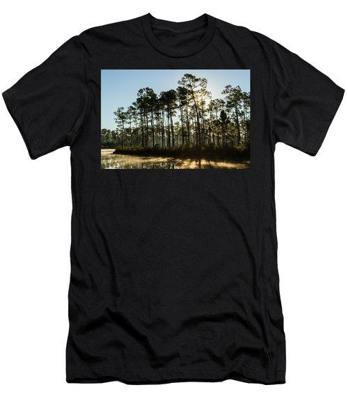 Everglades Sunrise Men's T-Shirt (Athletic Fit)