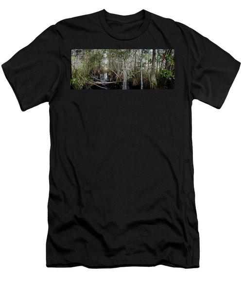 Everglades Swamp-1 Men's T-Shirt (Athletic Fit)