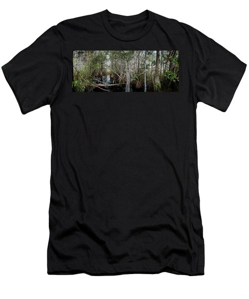 Everglades Swamp-1 Men's T-Shirt (Athletic Fit)