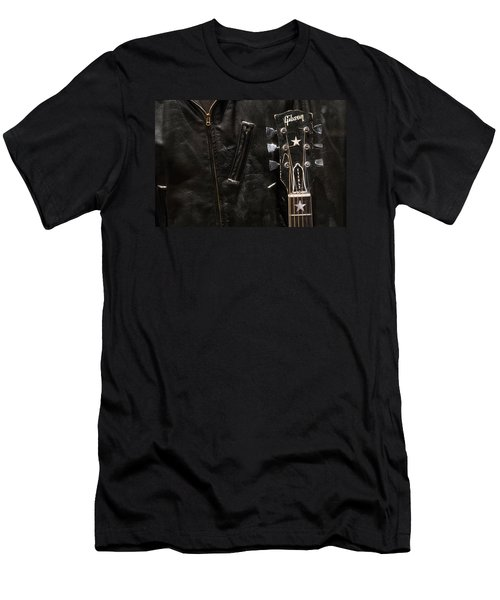 Men's T-Shirt (Slim Fit) featuring the photograph Everly Brothers by Glenn DiPaola