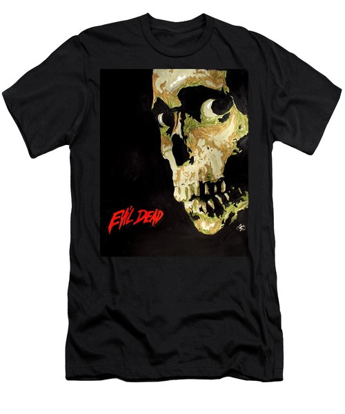 Evil Dead Skull Men's T-Shirt (Athletic Fit)
