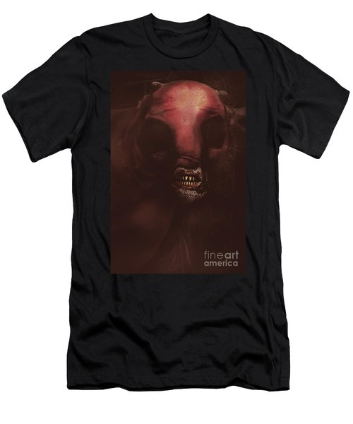 Evil Greek Mythology Minotaur Men's T-Shirt (Athletic Fit)