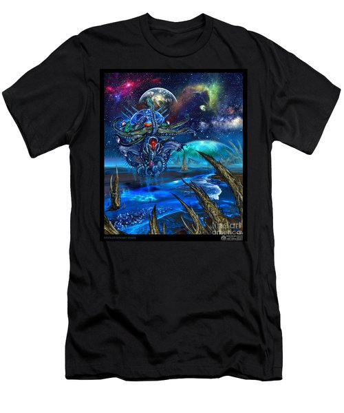 Evolutionary Space Men's T-Shirt (Athletic Fit)