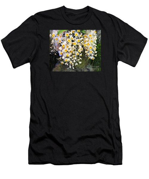 Exotic Aerides Men's T-Shirt (Athletic Fit)