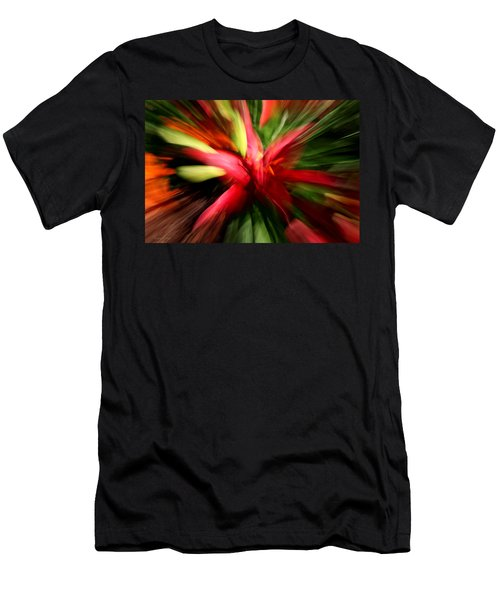 Exploding Lily Men's T-Shirt (Athletic Fit)