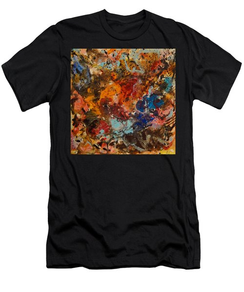 Explosive Chaos Men's T-Shirt (Athletic Fit)