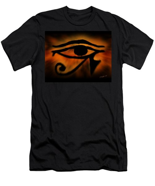 Eye Of Horus Eye Of Ra Men's T-Shirt (Athletic Fit)