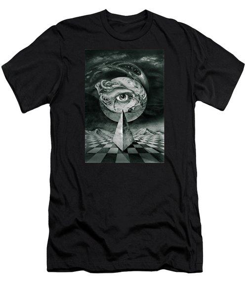 Eye Of The Dark Star Men's T-Shirt (Athletic Fit)