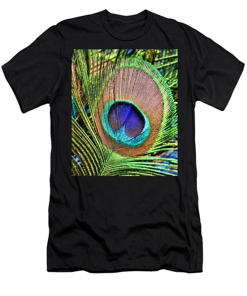 Eye Of The Feather Men's T-Shirt (Athletic Fit)