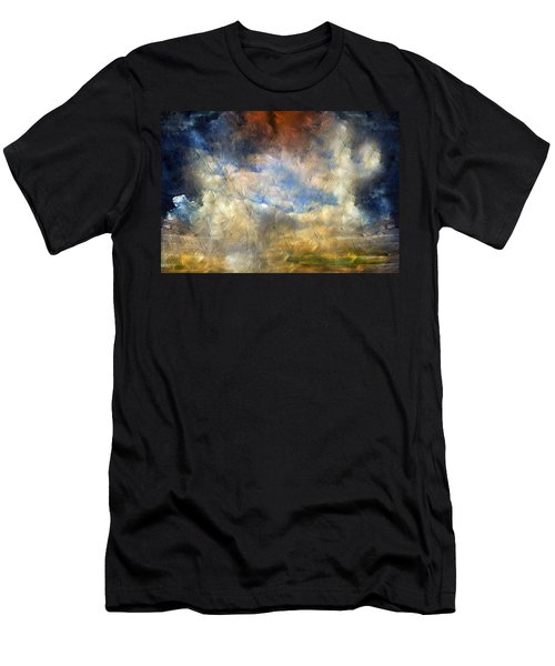 Eye Of The Storm  - Abstract Realism Men's T-Shirt (Athletic Fit)