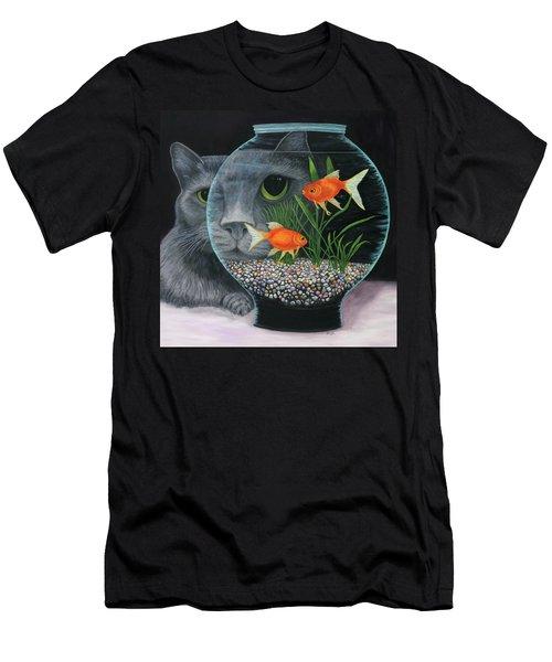Eye To Eye Sq Men's T-Shirt (Athletic Fit)