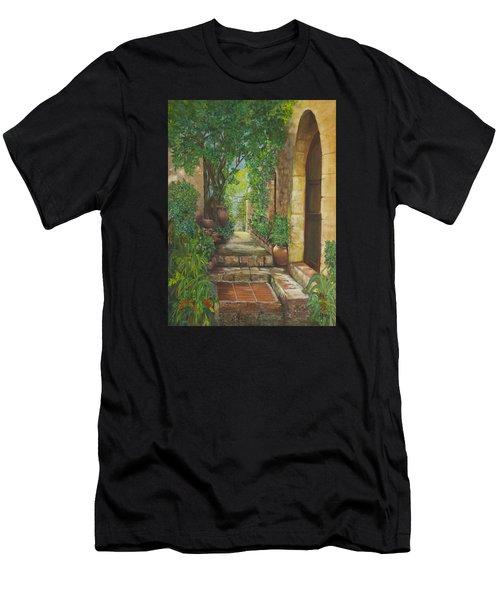 Eze Village Men's T-Shirt (Slim Fit) by Alika Kumar
