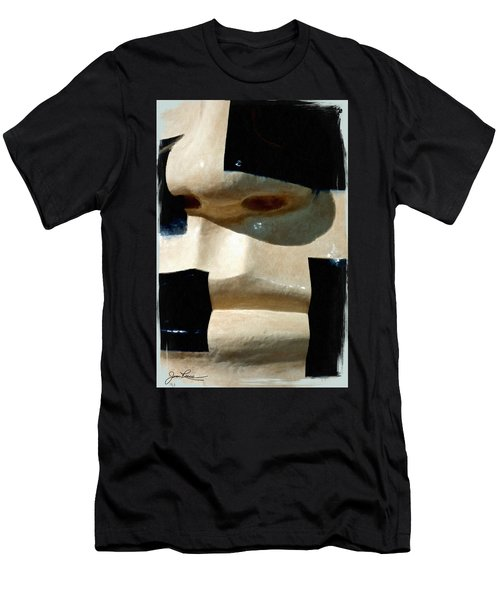 Men's T-Shirt (Athletic Fit) featuring the painting Face On by Joan Reese