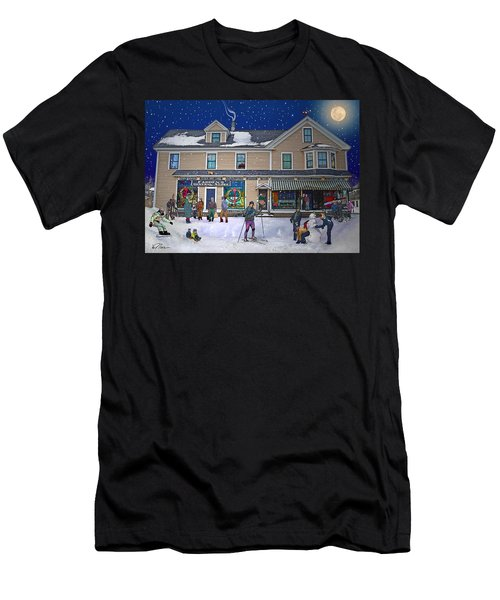 Faddens General Store In North Woodstock Nh Men's T-Shirt (Athletic Fit)