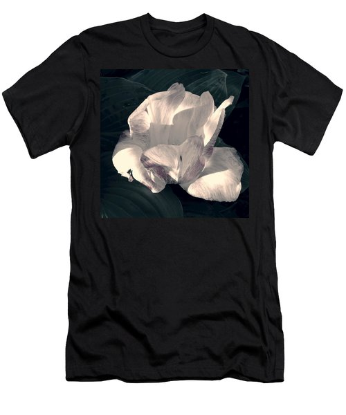 Men's T-Shirt (Slim Fit) featuring the photograph Faded Beauty by Photographic Arts And Design Studio