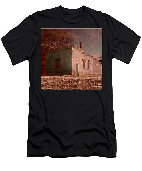 Faded Memories Men's T-Shirt (Slim Fit) by Desiree Paquette