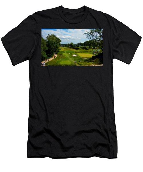 Fairways Greens Men's T-Shirt (Athletic Fit)
