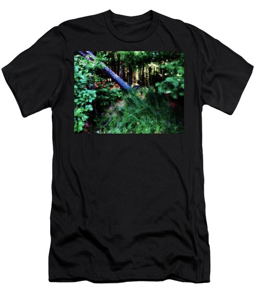Men's T-Shirt (Slim Fit) featuring the photograph Fairy Forest by Jamie Lynn