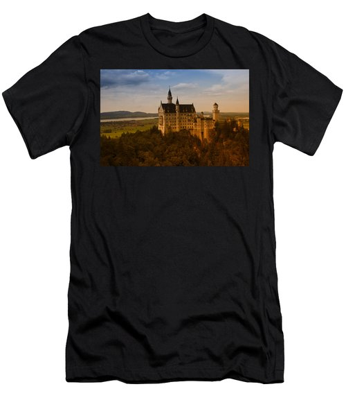 Fairy Tale Castle Men's T-Shirt (Slim Fit) by Miguel Winterpacht