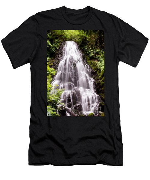 Men's T-Shirt (Slim Fit) featuring the photograph Fairy's Playground by Suzanne Luft