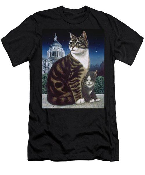Faith, The St. Paul's Cat Men's T-Shirt (Athletic Fit)