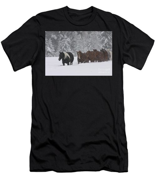 Faith Will Bring You Home Men's T-Shirt (Athletic Fit)