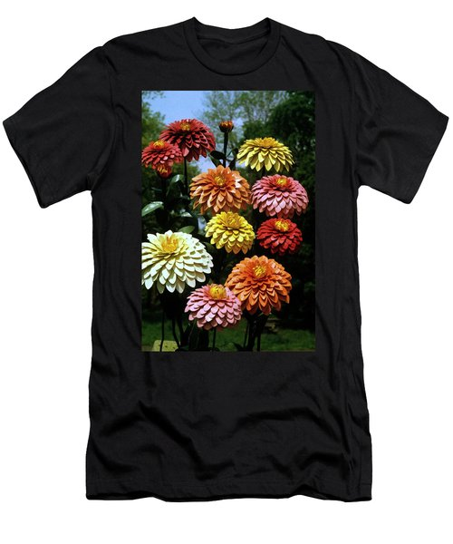 Fake Flowers Men's T-Shirt (Athletic Fit)