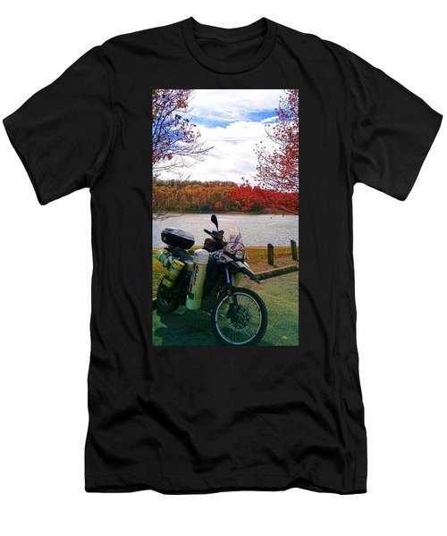 Fall At Fern Clyffe Men's T-Shirt (Athletic Fit)