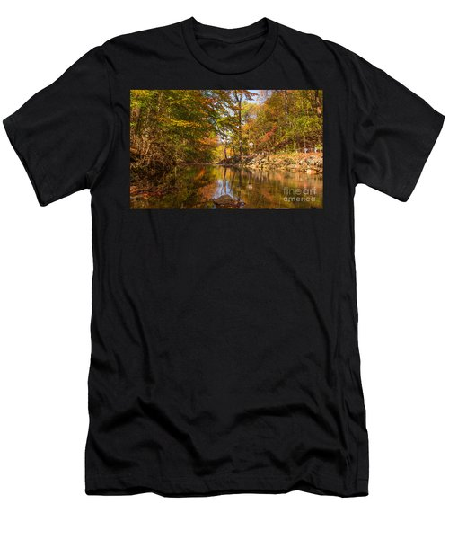 Fall At Valley Creek  Men's T-Shirt (Athletic Fit)