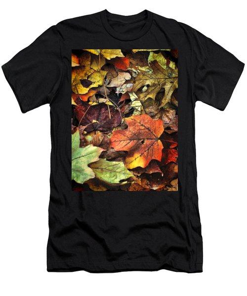 Fall Colors Men's T-Shirt (Slim Fit) by Lyle Hatch