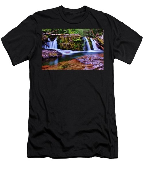 Fall Creek Oregon 3 Men's T-Shirt (Athletic Fit)