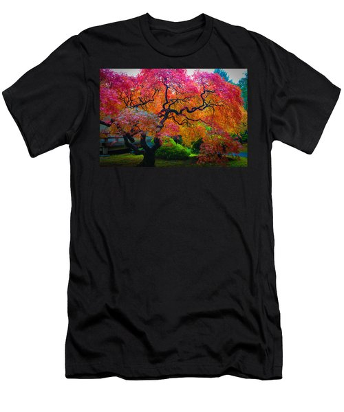 Fall Crowning Glory  Men's T-Shirt (Athletic Fit)
