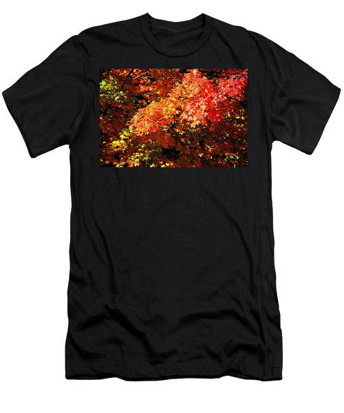 Fall Foliage Colors 21 Men's T-Shirt (Athletic Fit)