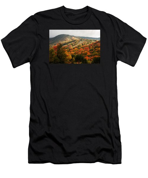 Fall Foliage On Canon Mountain Nh Men's T-Shirt (Athletic Fit)