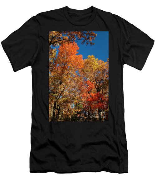 Men's T-Shirt (Slim Fit) featuring the photograph Fall Foliage by Patrick Shupert