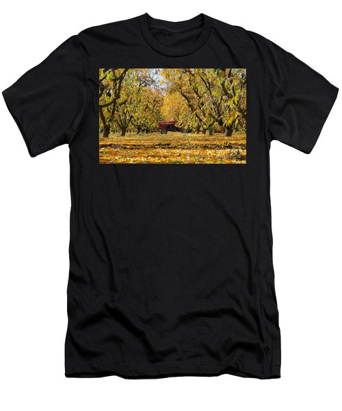Fall In The Peach Orchard Men's T-Shirt (Athletic Fit)