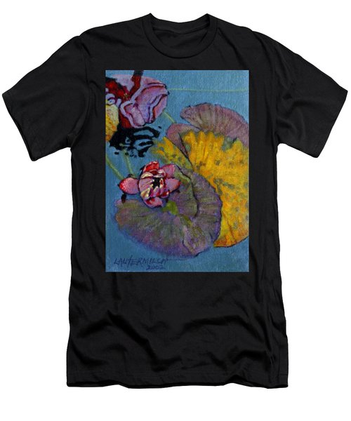 Fall Lily Men's T-Shirt (Athletic Fit)
