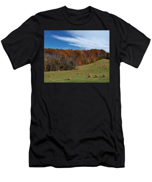 Fall On The Farm Men's T-Shirt (Athletic Fit)