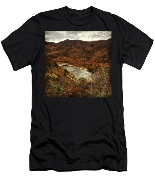 Men's T-Shirt (Athletic Fit) featuring the photograph Fall On The Maury by KG Thienemann