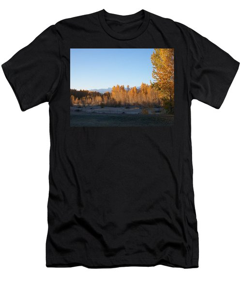 Fall On The River Men's T-Shirt (Athletic Fit)
